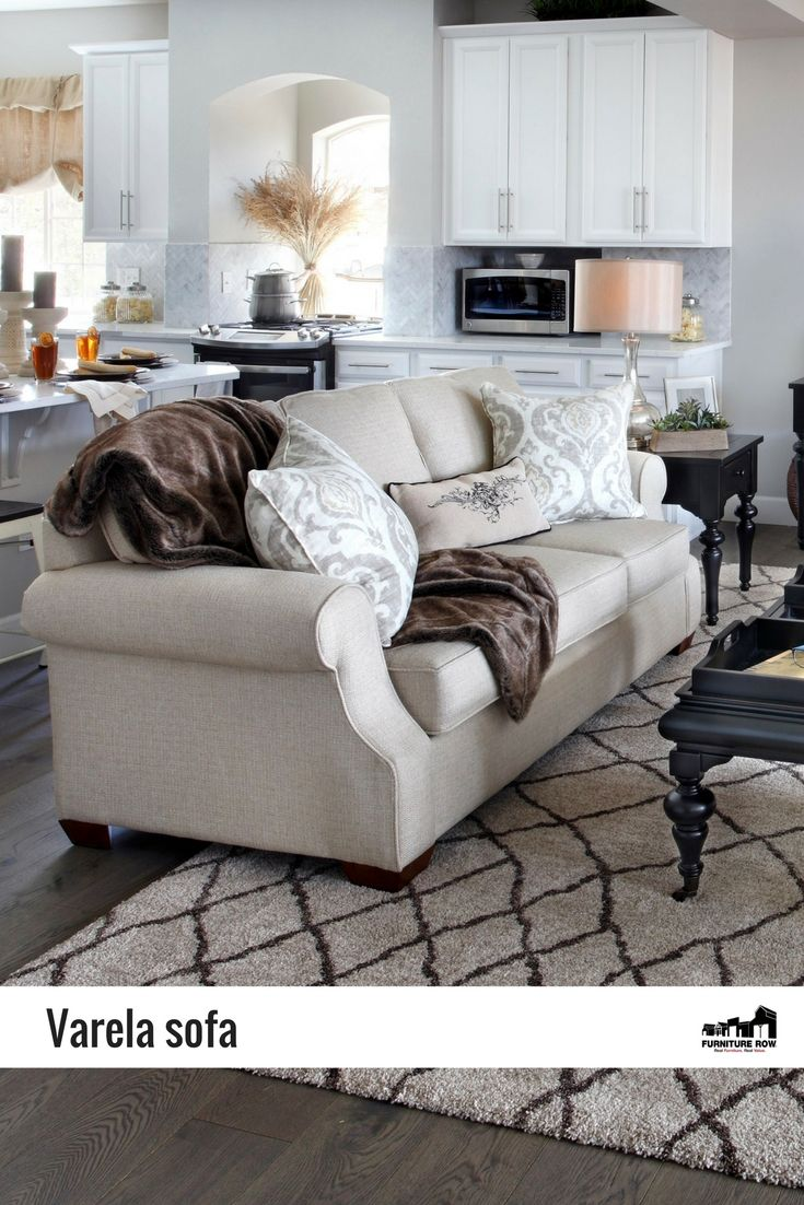 The Varela Sofa Is A Transitional Trendsetter In Goes With Everything  Beautiful Beige.