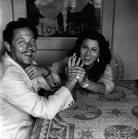 Tennessee Williams and Anna Magnani