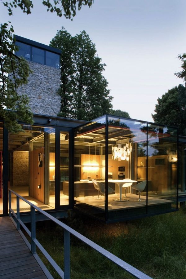 House Designs Featuring Glass Extensions – Enjoy Nature From The Comfort Of Your Home