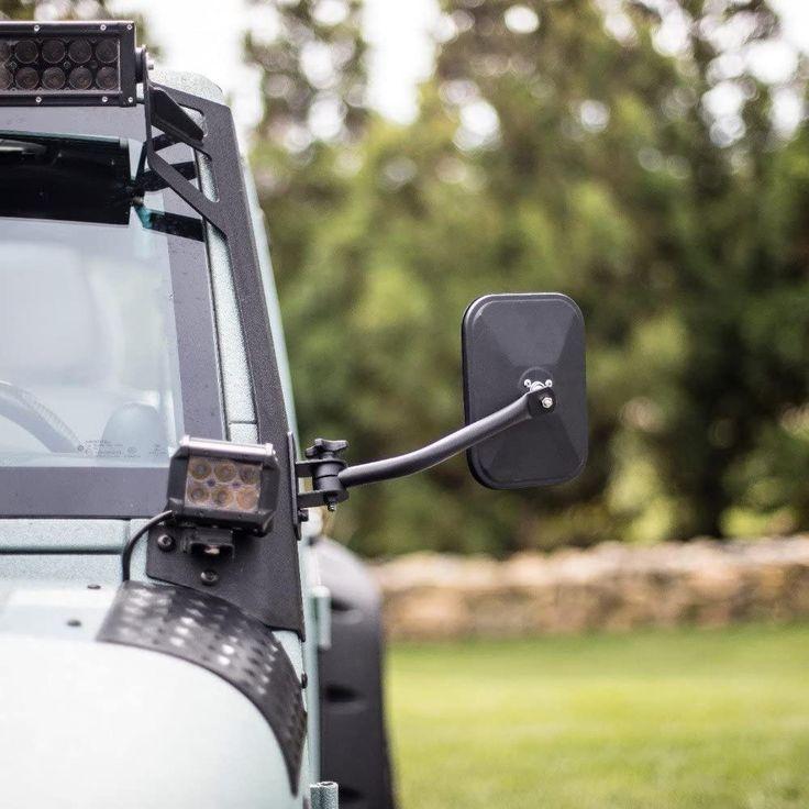 Door off mirror for jeep wrangler 19972017 in 2020 jeep
