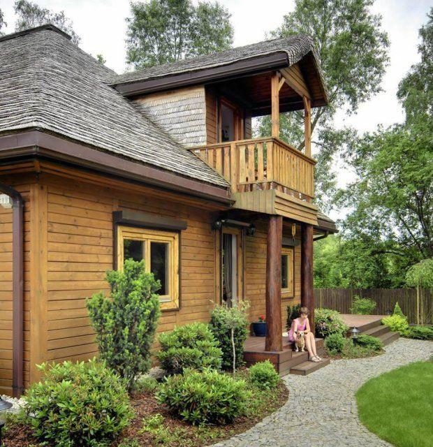 Przytulnie i tradycyjnie - dom pod miastem