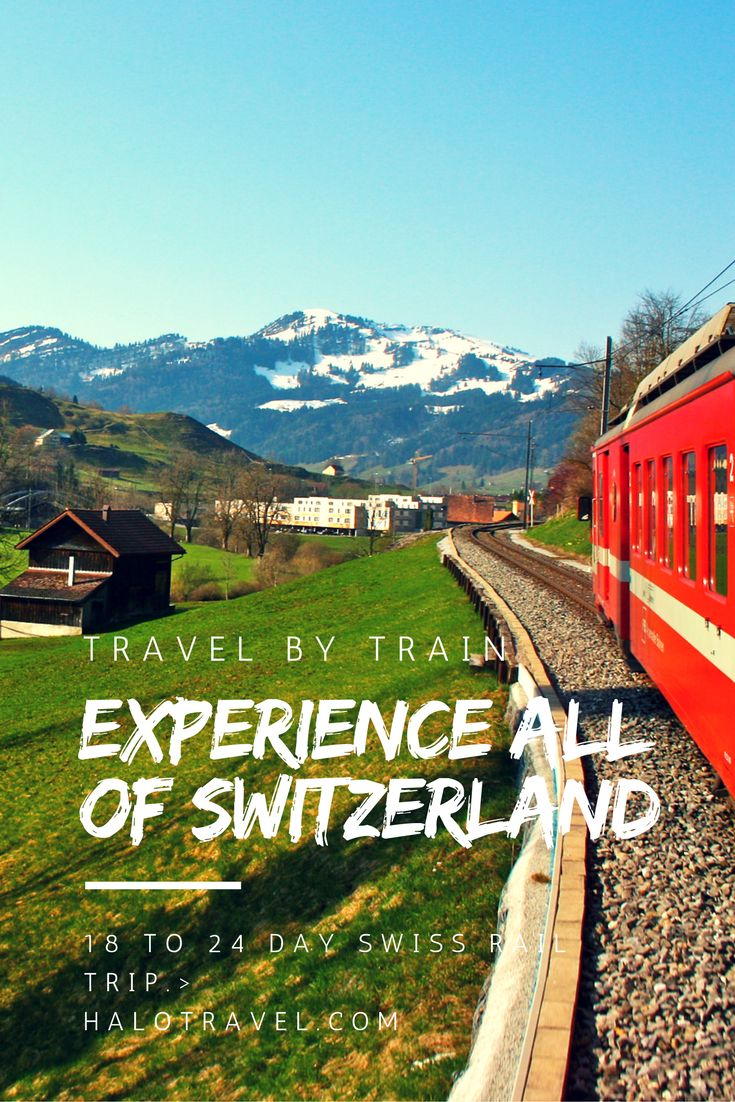 What better way to discover the wonders of Switzerland travel, than by Swiss rail? Journey through this astonishing landscape in just 3 weeks.