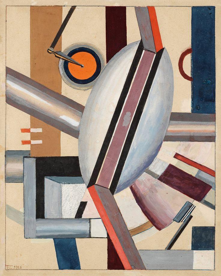 Franciska Clausen : éléments mécaniques (1929)