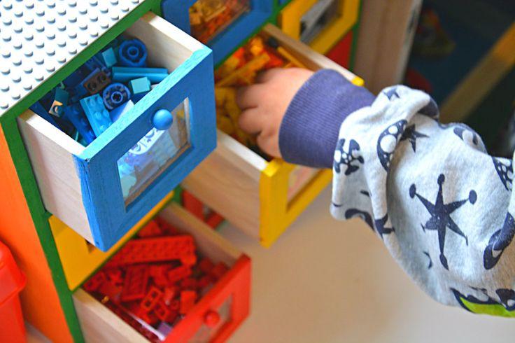 12 ideer til legooppbevaring. - Idebank for småbarnsforeldreIdebank for småbarnsforeldre
