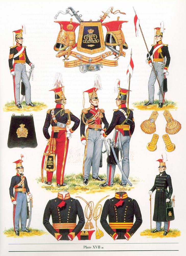 9th Queen's Royal Lancers - 19th century uniforms