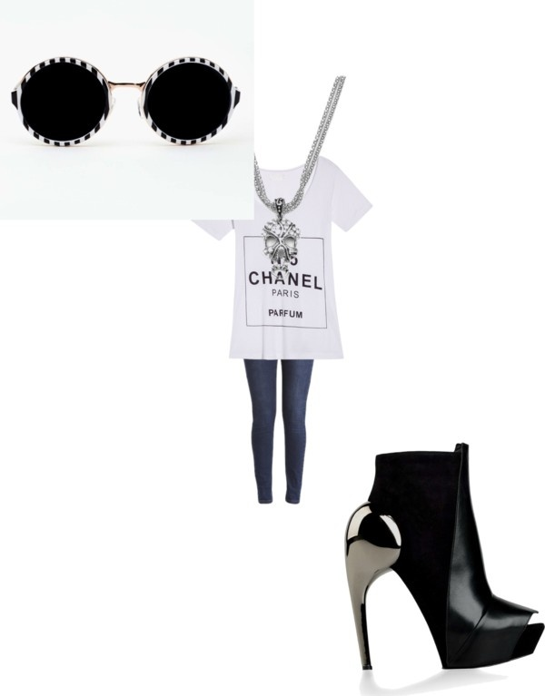 """acromatic"" by annevee79 on Polyvore"
