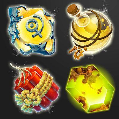 Jewel Quest Board & UI Icons, Stephan McGowan on ArtStation at https://www.artstation.com/artwork/jewel-quest-board-ui-icons
