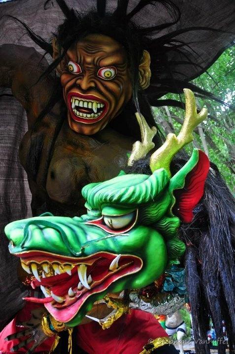 Selamat hari raya Nyepi !! #amed - Ogoh Ogoh party !