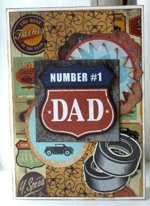 Kaisercraft Father Card