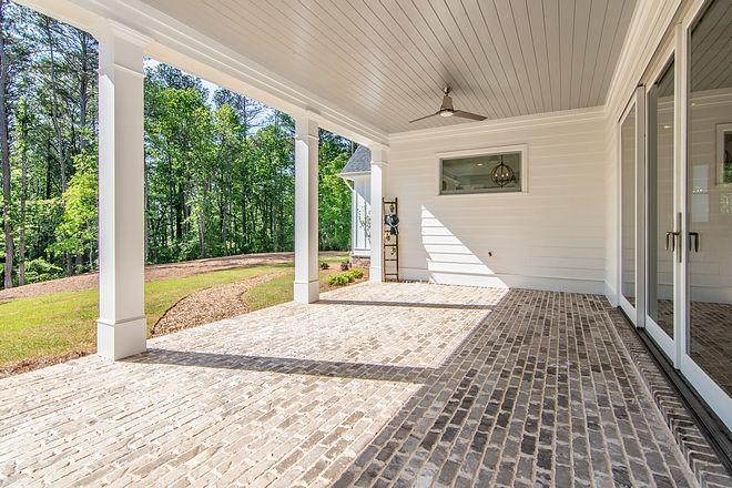 Brick Flooring Porch