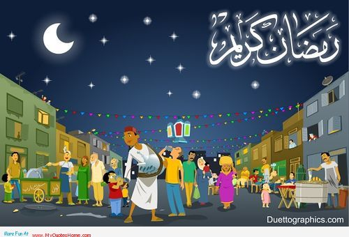 The shopping of ramadan start in Shaban – Ramadan Karim is comming