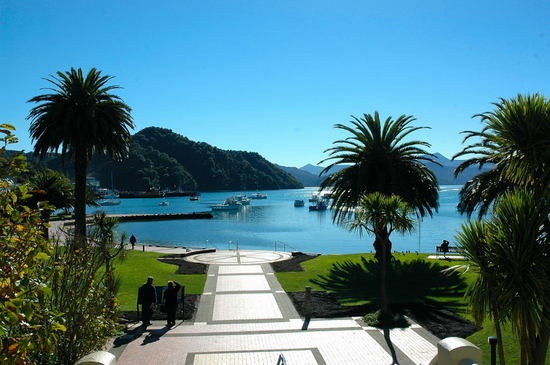 Picton, New Zealand - I LOVED living there!  Would move back in a heartbeat.