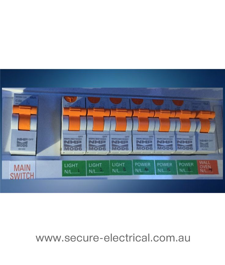 Upgrade your old fuse box to individual Safety Switches