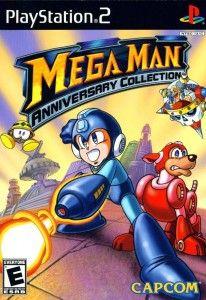 Mega Man Anniversary Collection (Jogo PS2) 2004 Tamanho: 2.81GB MN /10 (No Pin it) Contém os seguintes jogos: Mega Man Mega Man 2 Mega Man 3 Mega Man 4 Mega Man 5 Mega Man 6 Mega Man 7 Mega Man 8 (Baseado na versão PlayStation)  Além destes, os dois Mega Man jogos que foram raramente lançado fora do Japão : Mega Man: The Power Battle Mega Man 2: The Power Fighters  Essa é ainda uma das melhores coleções para quem ainda relembra as historias de grandes packs de games como esse