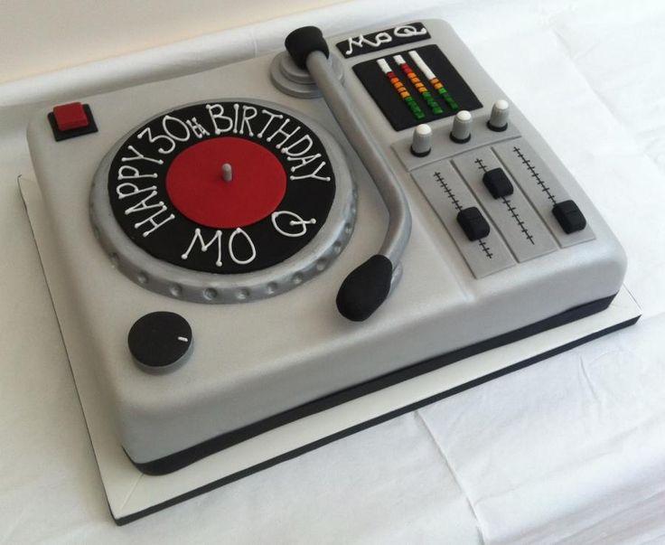 25 best ideas about dj cake on pinterest wine birthday. Black Bedroom Furniture Sets. Home Design Ideas