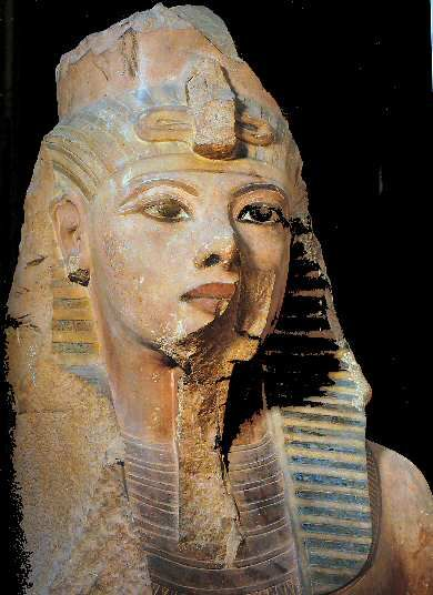 statue de Toutankhamon, 1336-1327, XVIIIe dynastie, Caire (JE 59859)