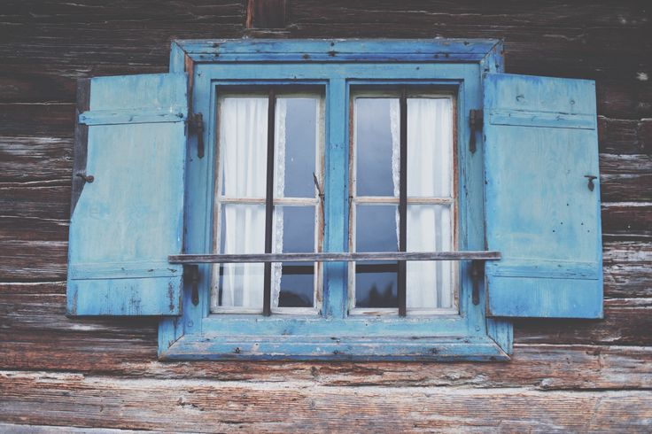 blue window,germany