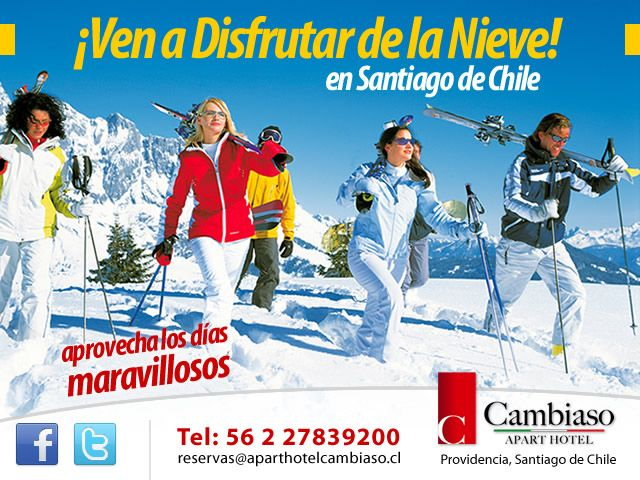 SIGUE NEVANDO EN SANTIAGO DE CHILE