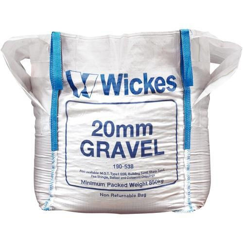 Jumbo Bag of 20mm Gravel Jumbo Bag   £38.24, Wickes