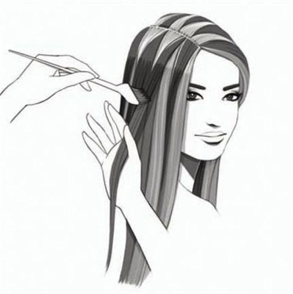 Hair colour applications