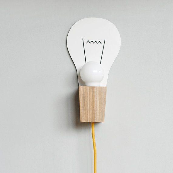 Wall Lamp BULB by maddadesign on Etsy, $102.00