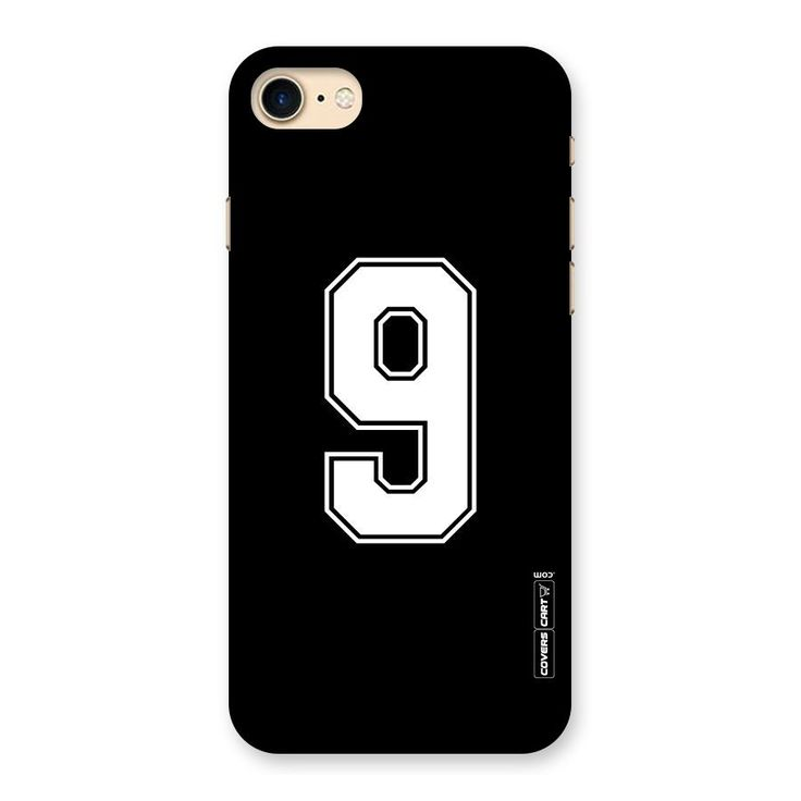 Number 9 Back Case for iPhone 7 | Mobile Phone Covers & Cases in India Online at CoversCart.com