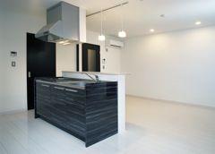 パナソニック耐震住宅工法テクノストラクチャーで建設されたアパート:黒の部屋