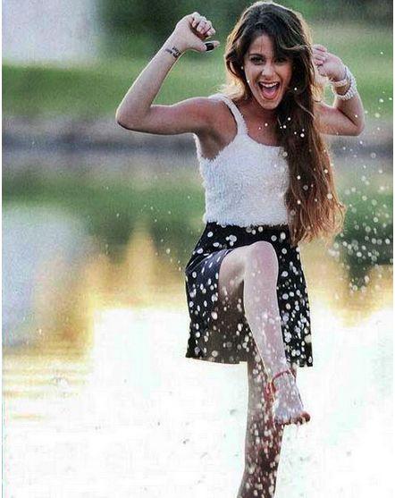 Aquí está Martina Stoessel en la Revista Caras