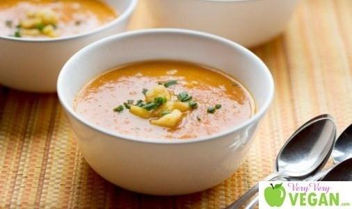 Vitamix Soup Recipes vitamix vitamix: Butternut Squash Soups, Diet Food, Vegans Soups, Soups Recipes, Healthy Eating, Vitamix Soups, Vitamix Recipes, Healthy Recipes, Recipes Vitamix