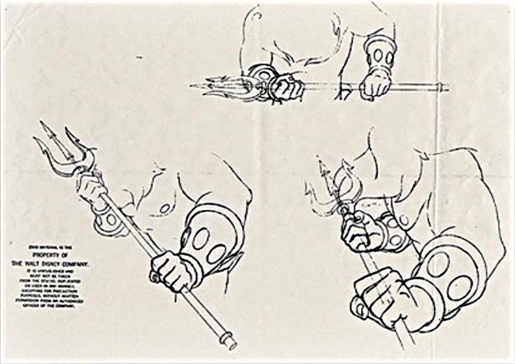 Character Design Walt Disney : Walt disney characters design king triton