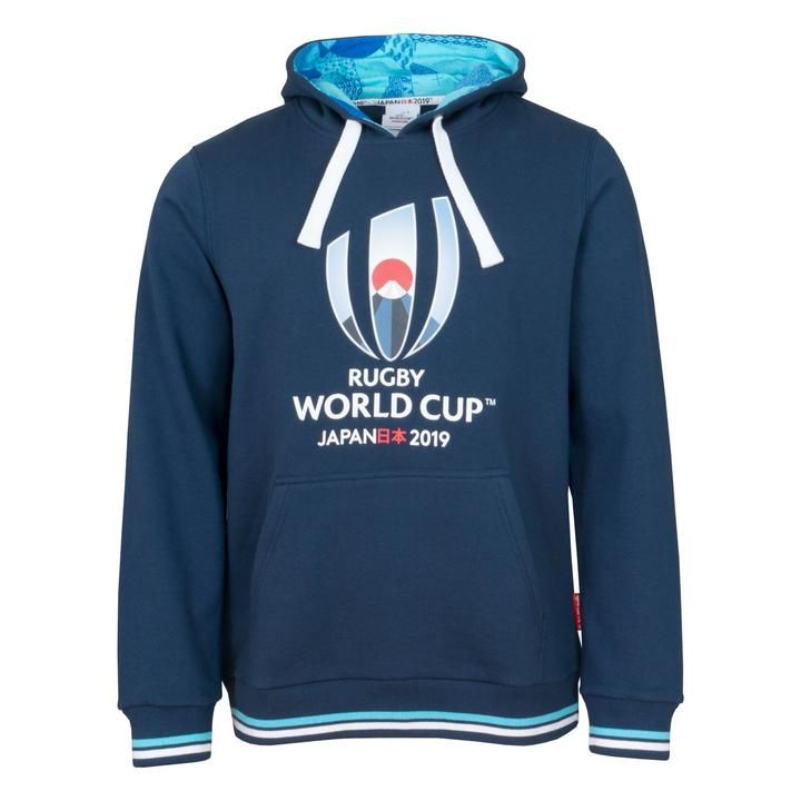 7106388e471 Rugby World Cup 2019 Men's Over Head Hoodie | Navy | Rugby - Rugby ...