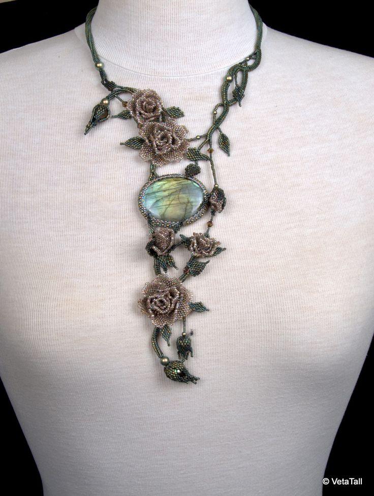 Veta's Art with Beads: Roses / Розы