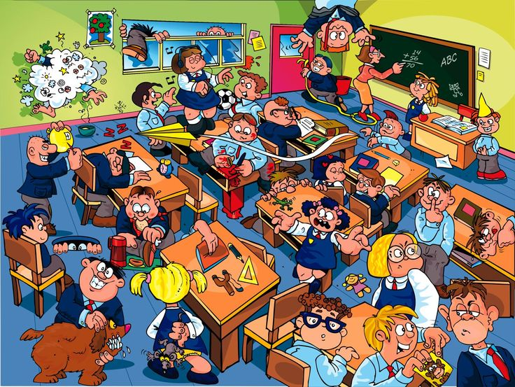 Great classroom picture to use for discussions or creative writing. Perfect for back to school.