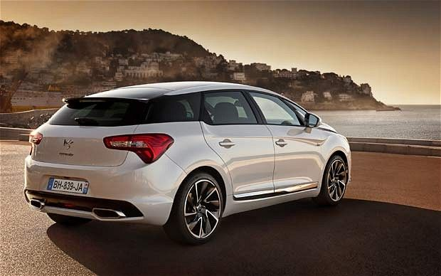 Citroen DS5 review by The Telegraph UK