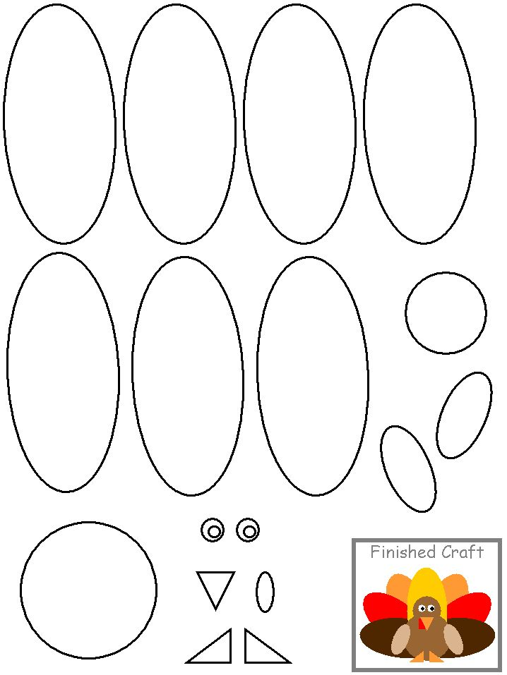 78 best shapes templates images on pinterest music notes for Thanksgiving turkey template