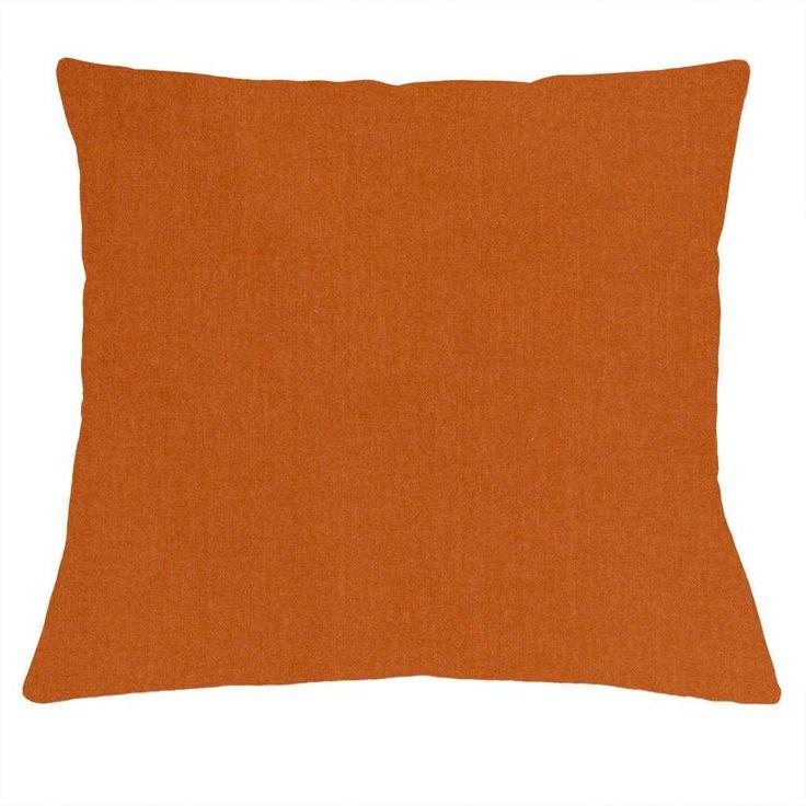 Woonexpress   sierkussen LIV    trendkleur oranje