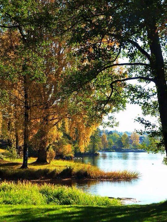 Autumn.. Vansjø, Moss, Norway/by Kikki