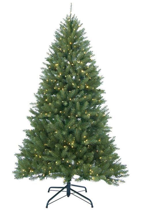 10 Pre Lit Christmas Tree Part - 45: 10u0027 Pre-Lit Essex Pine Medium Artificial Christmas Tree - Clear Lights