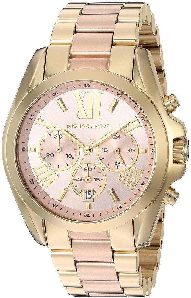 Michael Kors Women s MK6359 Bradshaw Chronograph Two-Tone Stainless Steel  Watch  MichaelKors  Fashion b40d5cb701