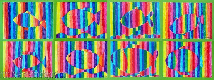 Tekenen en zo: Regenboogvis