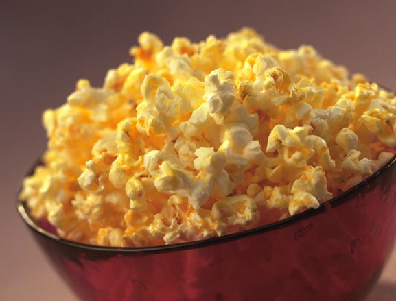 Tabasco Popcorn just like they serve at the bar!