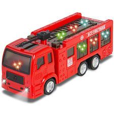 [$12.94 save 63%] Kids Toy Fire Truck Electric Flashing Lights and Siren Sound Bump and Go Action #LavaHot http://www.lavahotdeals.com/us/cheap/kids-toy-fire-truck-electric-flashing-lights-siren/216788?utm_source=pinterest&utm_medium=rss&utm_campaign=at_lavahotdealsus