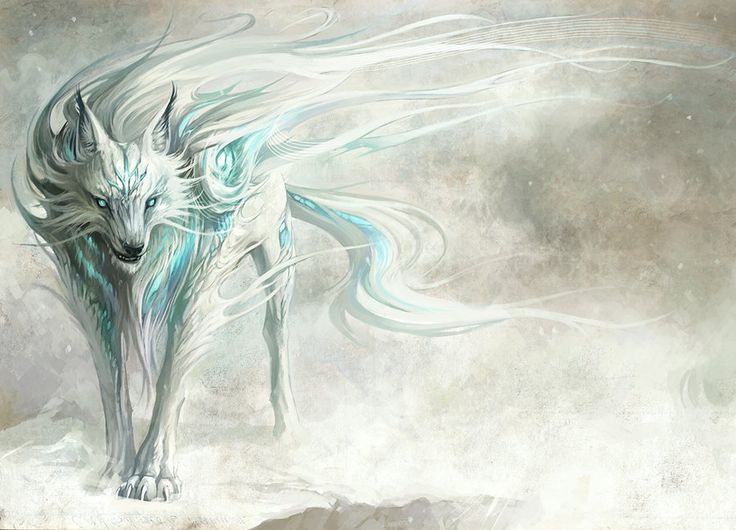winter wolf by ~animecrazy1992 on deviantART