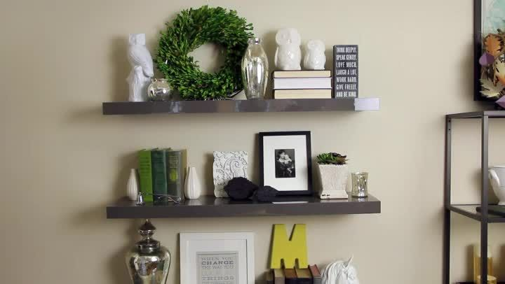 Floating Shelves Decorating Ideas .