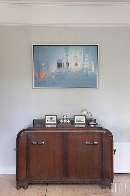 Antique, vintage Art Deco sideboard