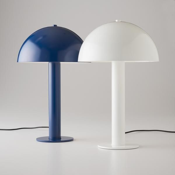 Inspired by mid-century Italian design, the Sidnie Lamp is a splendid mixture of shape, color and texture — a lamp that looks just as good off as it does on. Th