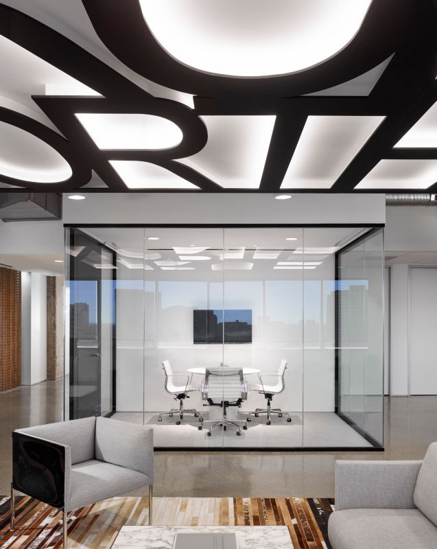 True North Advisors Dallas Office Interior DesignOffice