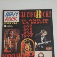 HEAVY ROCK ESPECIAL ROCK SATANICO. OZZY, KING DIAMOND, SLAYER...