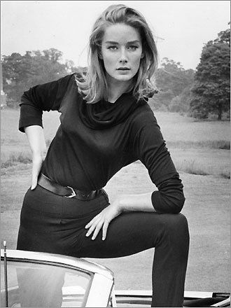 James Bond girl Tania Mallet as Tilly Masterson in Goldfinger