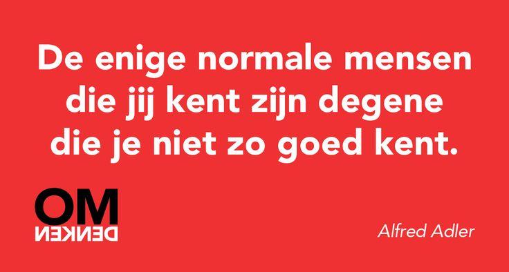 Ken jij normale mensen?